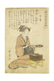 Housewife Giclee Print by Kitagawa Utamaro