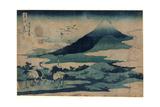 Soshu Umezawa Zai Giclee Print by Katsushika Hokusai