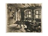 Durer's Room in Nuremberg, 1896 Giclee Print by Leon Augustin Lhermitte