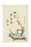 Plum Flower Arrangement Giclee Print by Kitagawa Utamaro
