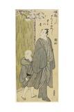 Listening to the Sound of Bouncing Ball (Matsumoto Koshiro IV), 1787-1795 Giclee Print by Katsukawa Shuncho