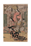 Taiko Gosai Rakuto Yukan No Zu Gicléetryck av Kitagawa Utamaro