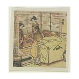 Shinagawa C. 1804 Giclee Print by Katsushika Hokusai