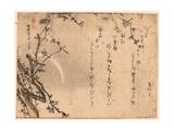 Mikazuki Ni Ume() Giclee Print by Kubo Shunman