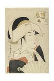 Portrait of Tomimoto Toyohina, 1795-1796 Giclee Print by Kitagawa Utamaro