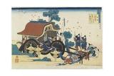 Kan-Ke, 1835-1836 Giclee Print by Katsushika Hokusai