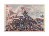 Storming Fort Wagner, July 18th 1863 Giclee Print by  Kurz And Allison