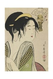 Love for a Farmer's Wife, 1795-1796 Giclee Print by Kitagawa Utamaro