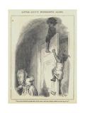 Little Lucy's Wonderful Globe Giclee Print by Lorens Frolich