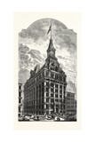The Western Union Telegraph Building, New York, Was Completed in 1875. Usa Giclee Print by Marc Nattier