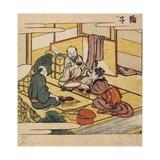 Mariko, C. 1804 Giclee Print by Katsushika Hokusai