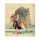 Oharame Giclee Print by Katsushika Hokusai