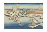 Sumida, C. 1833 Giclee Print by Katsushika Hokusai