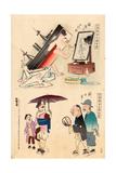 Chin'En No Kesho - Shin Nippon Giclee Print by Kobayashi Kiyochika