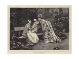 First Caresses Giclee Print by Marie Francois Firmin-Girard