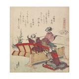 Sudare Seashell, C. 1828 Giclee Print by Katsushika Hokusai