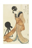 Kanpei's Wife Okaru, January 1806 Giclee Print by Kitagawa Utamaro