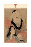 Araihari Giclee Print by Kitagawa Utamaro