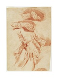Studies of Hands, 1770s-1780s Giclee Print by Louis Rolland Trinquesse