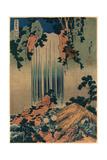 Mino No Kuni Yoro No Taki Giclee Print by Katsushika Hokusai