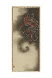 Thunder God, Edo Period, 1847 Giclee Print by Katsushika Hokusai