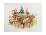 Duck's Christmas, 1999 Giclee Print by Kestutis Kasparavicius