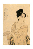 Uwaki No So Giclee Print by Kitagawa Utamaro