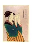 Fumiyomu Onna Giclee Print by Kitagawa Utamaro
