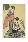 Picture of the Lower Class, 1794-1795 Giclee Print by Kitagawa Utamaro