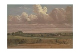 Landscape with Wheatfield, C.1850s Giclee Print by Lionel Constable