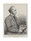 Portrait of Sir J E Millais, 1874 Giclee Print by Leslie Matthew Ward