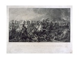 The Decisive Charge of the Life Guards at Waterloo, 1815, by William Bromley (1769-1842), 1821 Giclee Print by Luke Clennell