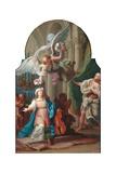 St Cecilia Giclée-Druck von Luigi Vanvitelli