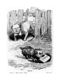 Dogg'D Taken from Punch Magazine, 1912 Giclee Print by Leonard Raven-hill