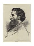 Frederick Leighton Giclee Print by Leslie Matthew Ward