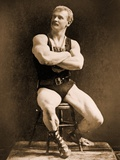 Eugen Sandow, in Classical Ancient Greco-Roman Pose, C.1893 Photographic Print by Napoleon Sarony