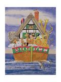 Noah's Ark, 1989 Giclee Print by Linda Benton