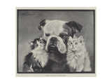The Best of Friends Giclee Print by Lilian Cheviot