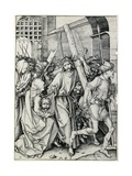 Christ Carrying the Cross Giclee Print by Martin Schongauer
