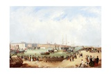 Opening of Sunderland South Docks, 1850 Giclee Print by Mark Thompson