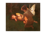 Cupid and Psyche, 1898 Wydruk giclee autor Middleton Jameson