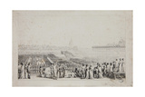 Day of the Champ De Mai, 1815 Giclee Print by Louis Lafitte