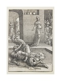 Jael Killing Sisera, 1516-1519 Giclee Print by Lucas van Leyden