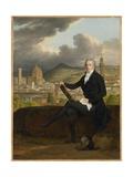 Portrait of Dr. Thomas Penrose, 1798 Giclée-tryk af Louis Gauffier