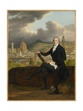 Portrait of Dr. Thomas Penrose, 1798 Giclee Print by Louis Gauffier
