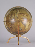 Terrestrial Globe Photographic Print by Martin Waldsemuller