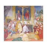 Clothing of Saint Brigida, 1524 Giclee Print by Lorenzo Lotto