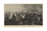 The Decisive Charge of the Life Guards at the Battle of Waterloo Giclee Print by Luke Clennell