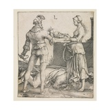 Beheading of Saint John the Baptist, 1513 Giclee Print by Lucas van Leyden