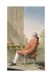 David Hume (1711-76) Giclee Print by Louis Carrogis
